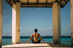 Yoga im Home office